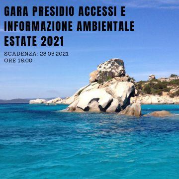 GARA ACCESSI E INFORMAZIONE AMBIENTALE - ESTATE 2021