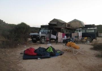 Campeggio abusivo: multati turisti francesi